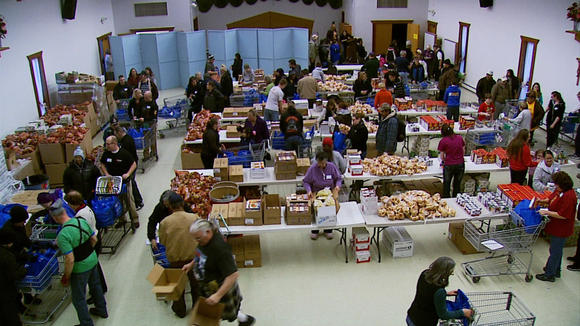 Thanksgiving Blessing Increases by 17 Percent