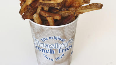 Thrasher's makes list of U.S. best french fries