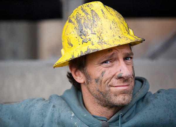 "Mike Rowe, the host of ""Dirty Jobs."""