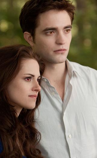 "Kristen Stewart and Robert Pattinson star in ""The Twilight Saga: Breaking Dawn-Part 2."""