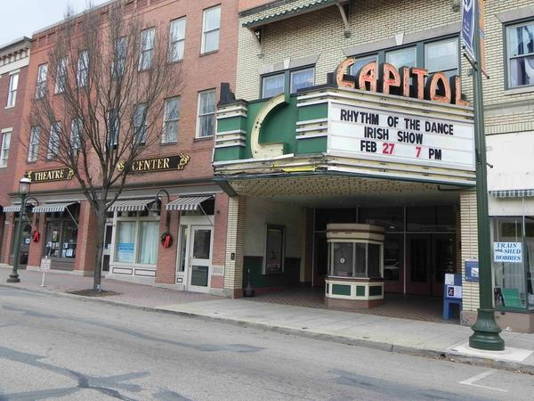The Capitol Theatre Center is shown in this Herald-Mail file photo. The Captiol Theatre has $71,000 more to raise to hit its goal before a Dec. 31 deadline.