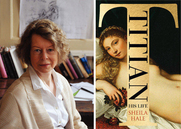 The cover of 'Titian: His Life' by author Sheila Hale.