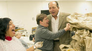 Pictures: Johnny Bench tours the LifePath facility in Bethlehem
