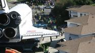 Time-lapse video: Space shuttle Endeavour's crosstown journey through L.A.
