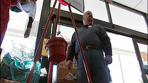 Salvation Army seeing fewer donations at Lynchburg kettle sites