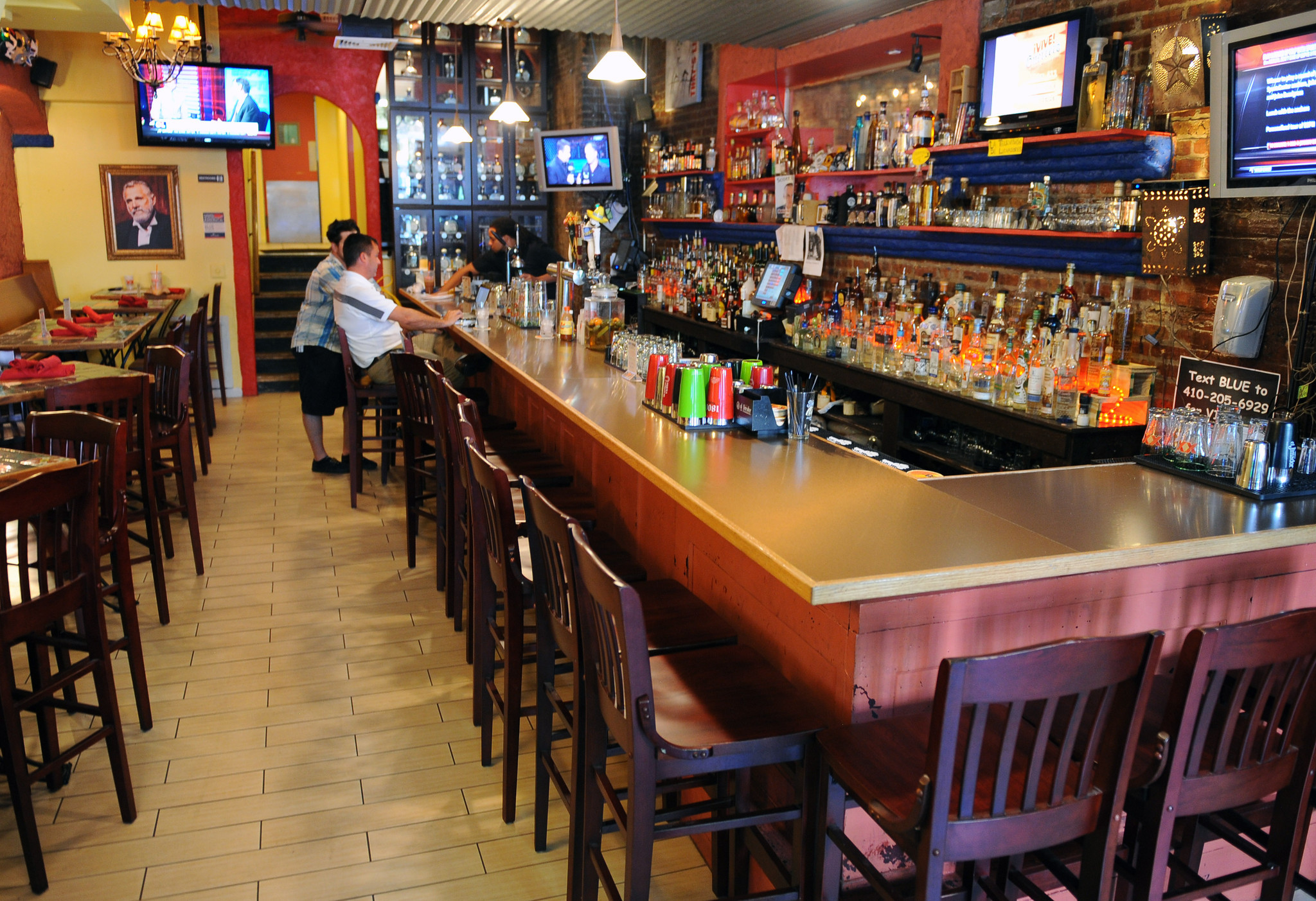 Blue agave baltimore is the ravens bar of the week for Restaurants m t bank stadium