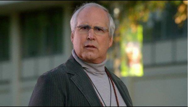"Chevy Chase as Pierce Hawthorne on ""Community."""
