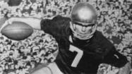 It was Nov. 28, 1964, and it was easy to cheer, cheer for old Notre Dame.