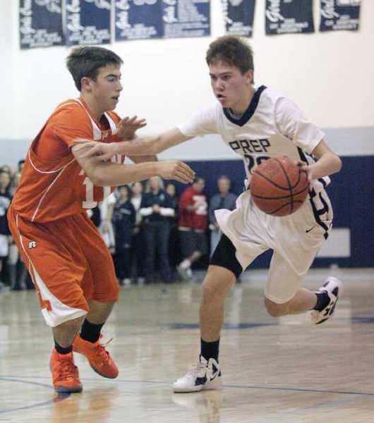 ARCHIVE PHOTO: Flintridge Prep's junior point guard Robert Cartwright is one of nine returning players from a 2010-11 team that won the Division V-AA championship.