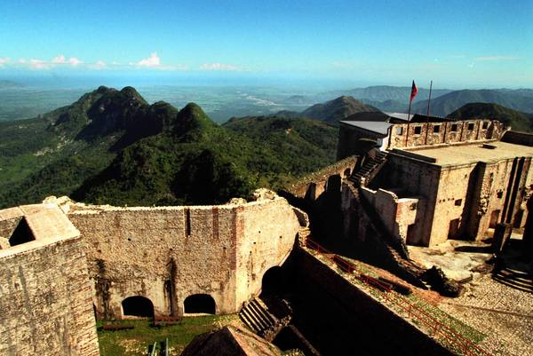 The Citadelle, a fortress built by Haiti's king Christophe atop a mountain to defend against the French, used to attract tourists by the droves. Haitians hope a tourism push will bring tourists back.
