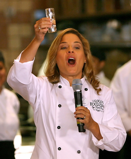 Pictures: Cruise ship godmothers - Cat Cora
