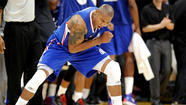 OKLAHOMA CITY --  Caron Butler will not play Wednesday night against the Thunder because of a strained right shoulder.