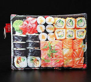 "This sushi-adorned cosmetic case is a fun gift for any California roll aficionado.  <br/><br/> Price: $8 <br/><br/> Where to find:  <a href=""http://www.urbanoutfitters.com/urban/catalog/productdetail.jsp?id=25497884&parentid=A_COOL5"">Urbanoutfitters.com</a>"