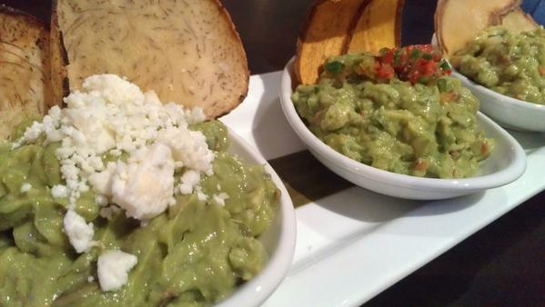 Guacamole appetizers come in traditional, spicy and seasonal flavors.
