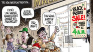 The greedy hordes of Black Friday are now plundering Thanksgiving