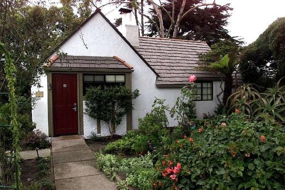 The Rose Garden Cottage at the Pierpont Inn in Ventura.