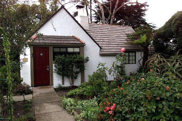 The Rose Garden Cottage at the Pierpont Inn in Ventura.