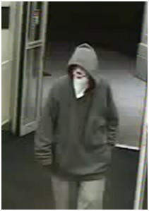 This photo, taken from surveillance video, shows the man who robbed a CVS on East Wilson Boulevard Sunday night.