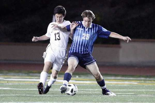 ARCHIVE PHOTO: Crescenta Valley defender Matt Bracht is one of several key returning players for the Falcons.