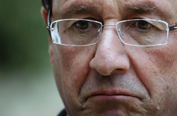 France President Francois Hollande.