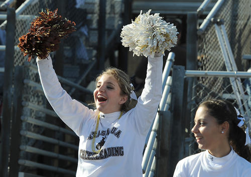 Faces in the crowd, during Thanksgiving Day Football game against Northampton High School, at Catasauqua High School's Memorial Field on Thursday.