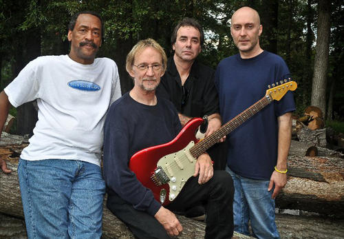 Peter Tork, former bassist with The Monkees, with his band Shoe Suede Blues. They'll play Sellersville Theater 1894 on June 8.