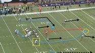 The Bears can attack the Vikings Cover-2 scheme Sunday by aligning wide receiver Brandon Marshall out of position and targeting the middle of the field when the ball is in the strike zone (20- to 35-yard line).