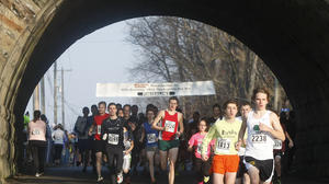 Thanksgiving Day Run in Niles attracts record turnout
