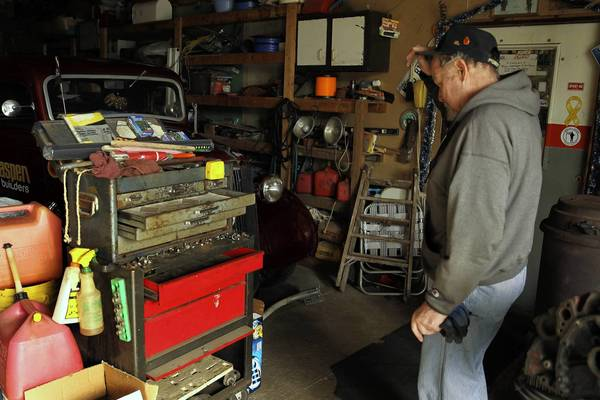 Ron Moe, of Monee, had more than $20,000 of specialized car tools stolen from his barn earlier this month.