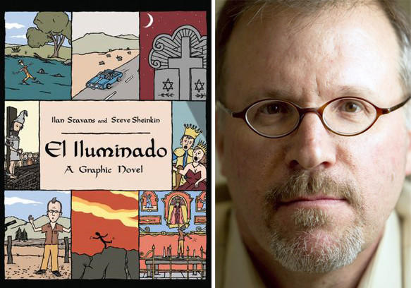The cover of 'El Iluminado' by authors Steve Sheinkin and Ilan Stavans, pictured.