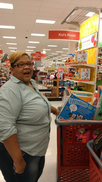 "For Denise Henderson of East Baltimore, Black Friday is all about tradition. For years, she shopped on Black Friday with her aunt.<br> <br> Henderson said her aunt died last year, and now, ""to me it's a memorial to her,"" she said while buying toys for her grandchildren at Target early Friday.<br> <br> She and her daughter, Kiara Moore, had filled two carts full of toys, including half a dozen board games for family night.<br> <br> She planned to continue the day's shopping at Walmart and then Old Navy.<br> <br> The Thanksgiving night openings did not tempt her to get an earlier start. ""I didn't feel like that was appropriate,"" she said. ""I stayed with my family.""<br> <br> <i>--Lorraine Mirabella</i>"