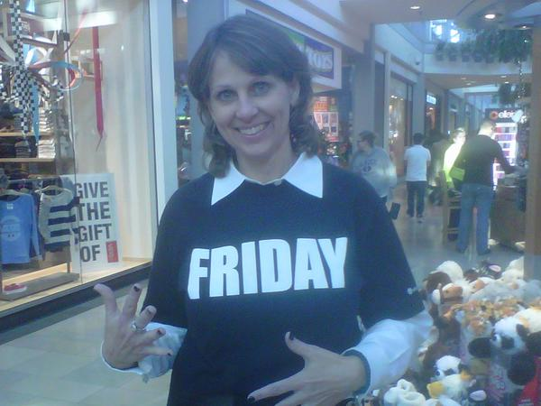 "Lisa Bisenius dressed for Black Friday: she wore black nail polish and a black T-shirt with the ""Friday"" on the front.<br> <br> But she might need a new shirt, as stores begin promoting holiday sales even earlier this year. Bisenius, the general manager of White Marsh Mall, said half as many stores opened at midnight last year.<br> <br> Among the popular stores to open doors overnight were clothing stores Hollister and Aeropostale. Sears was the first to open on Thanksgiving.<br> <br> But by 1 a.m. she said the parking lot was at 90 percent capacity. She predicted it would peak again at noon when another round of shoppers venture out.<br> <br> She said many of the retailers that opened overnight were expected to make target sales by early this morning.<br> <br> ""The numbers are reporting really good this year,"" she said.<br> <br> And of course, Starbucks was doing a booming business as shoppers stopped to refuel.<br> <br> ""Starbucks was crazy. It took me an hour to get my coffee,"" she said.<br> <br> <i>--Jessica Anderson</i>"