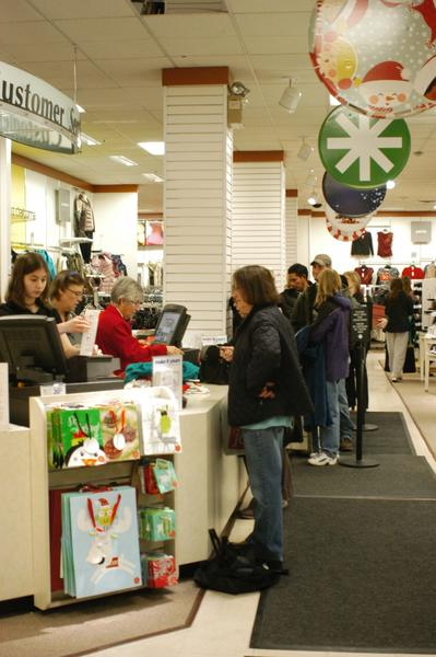 Long lines outside and long lines inside stores didnt deter shoppers from showing up in force at Petoskey retailers Thursday and Friday. Some stores reported having the best Black Friday ever this year.