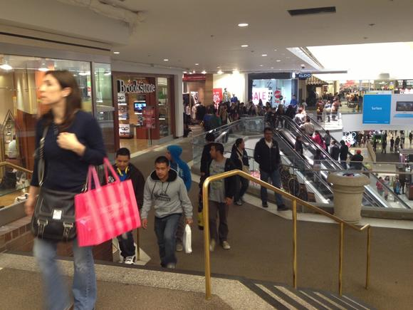 Black Friday at Glendale Galleria.
