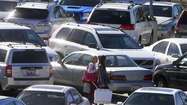 Black Friday drivers, beware: Parking lot accidents increase today