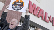 Pictures: Protest At Hartford Walmart
