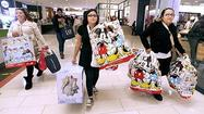 Photo Gallery: Black Friday shoppers at Glendale Galleria, Burbank's Empire Center