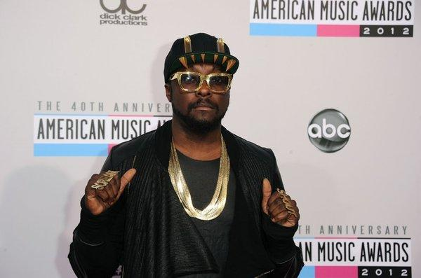 Musician will.i.am attends the American Music Awards this month at the Nokia Theatre in downtown Los Angeles.