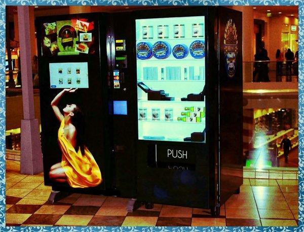 Caviar vending machine