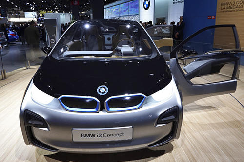 Making its world debut on Wednesday, Nov. 28, the i Concept will likely be a coupe version of this all-electric i3 city car concept BMW has been dragging around to auto shows since 2011.