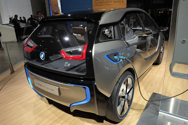 As you may know, the i3 is a compact, four-seat hatchback with a range of 80-100 miles. Its powerplant makes 167 horsepower and 184 pound-feet of torque, and BMW says the battery charges fully in about six hours.