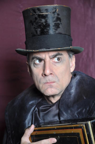 "Tim DeBaun returns as Scrooge in Theatre Downtown's ""A Christmas Carol."""