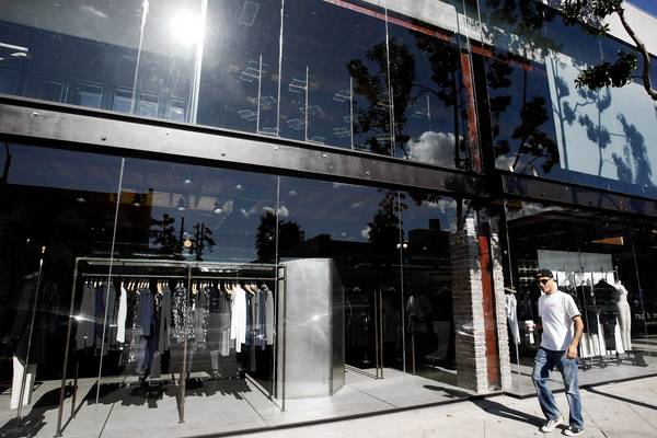 Rag & Bone on Melrose Avenue