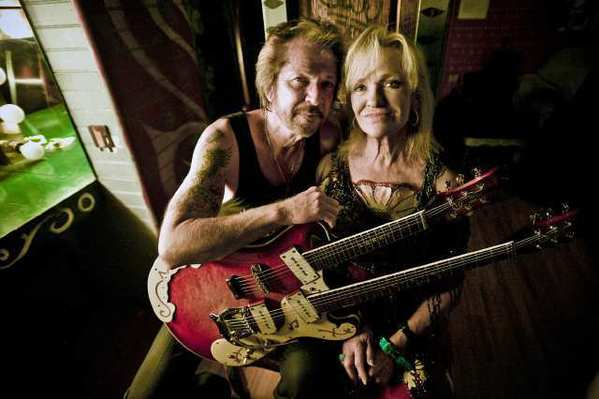 """As children, siblings Larry and Lorrie Collins broke into local prominence on the popular KTTV television show """"Town Hall Party."""" The rockabilly pioneers are back in action as adults, performing their first Los Angeles-area show in 17 years at Joe's Great American Bar & Grill in Burbank."""