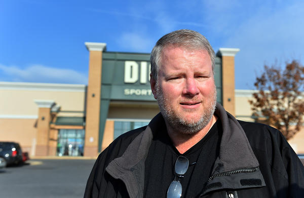 Gary Church, of Bethlehem looks to buy a gun safe and save over $300.00 of Dick's Sporting Goods in Easton on Black Friday. /