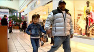 Shoppers swarm University Park Mall
