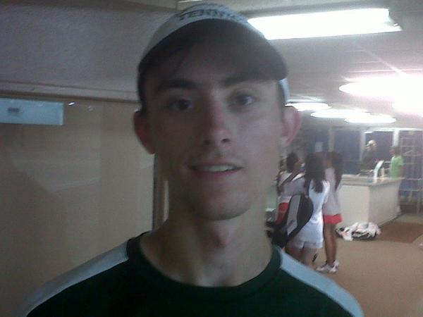 Jamestown High graduate JJ Wilroy plays on William and Mary's club tennis team.