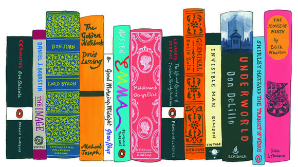 Jennifer Egan's bookshelf