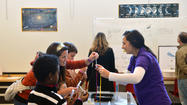 The Da Vinci Science Center's Thanksgiving 2012: Play with your food