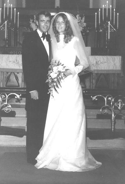 "Jan ""Scott"" Frey and Jacalyn ""Jackie"" Spicer were married Aug. 15, 1976, in Cambridge, Md. It was the date of Jackie's parents' anniversary. Daughter Heather Burke got married on the same date."